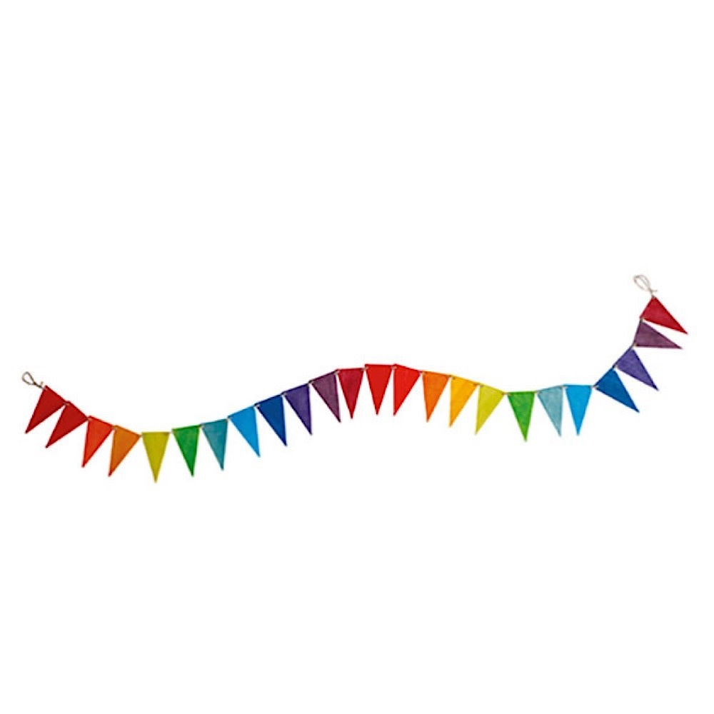 Grimms Pennant Banner - Rainbow