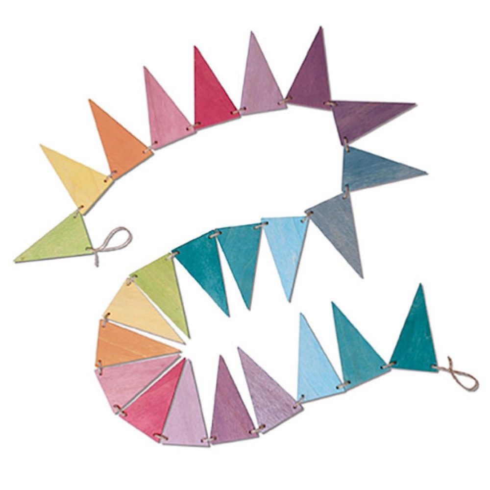 Grimms Pennant Banner - Pastel