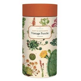 Cavallini Papers & Co., Inc. Cavallini Jigsaw Puzzle - Cacti & Succulents - 1000 Pieces