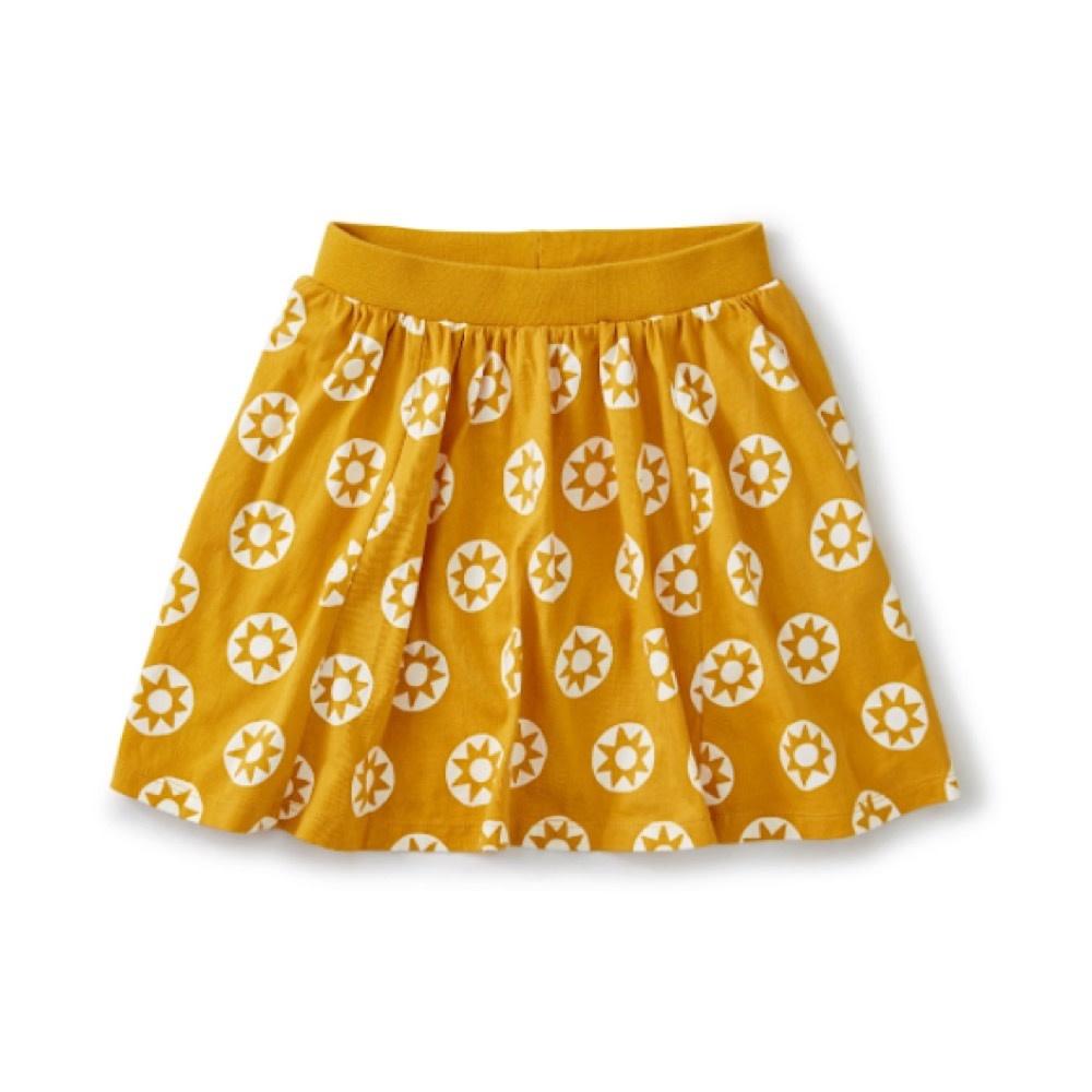 Tea Collection Twirl Skort - Golden Sun