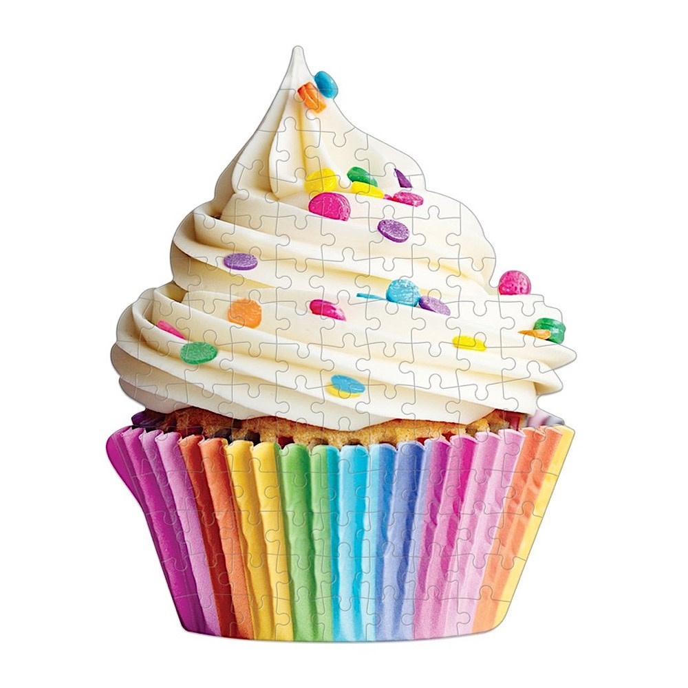 You're Sweet Cupcake Shaped Mini Puzzle - 100 Pieces