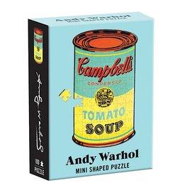 Galison Mudpuppy Andy Warhol Shaped Mini Puzzle - 100 Pieces