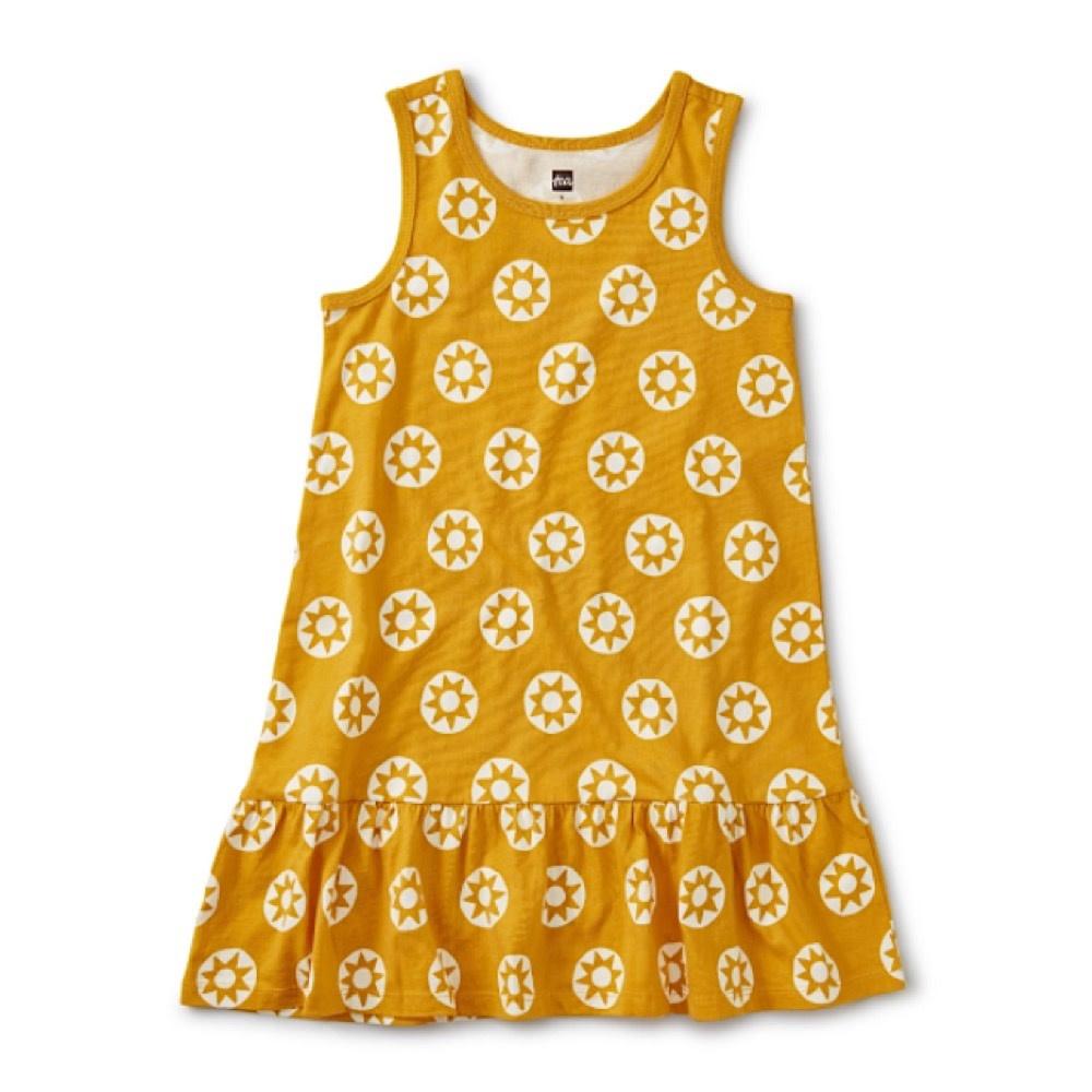 Tea Collection Tea Collection Tank Dress - Golden Sun