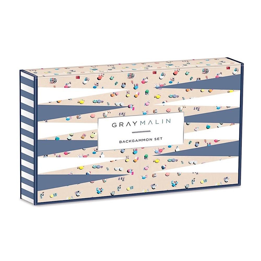 Gray Malin The Beach Backgammon
