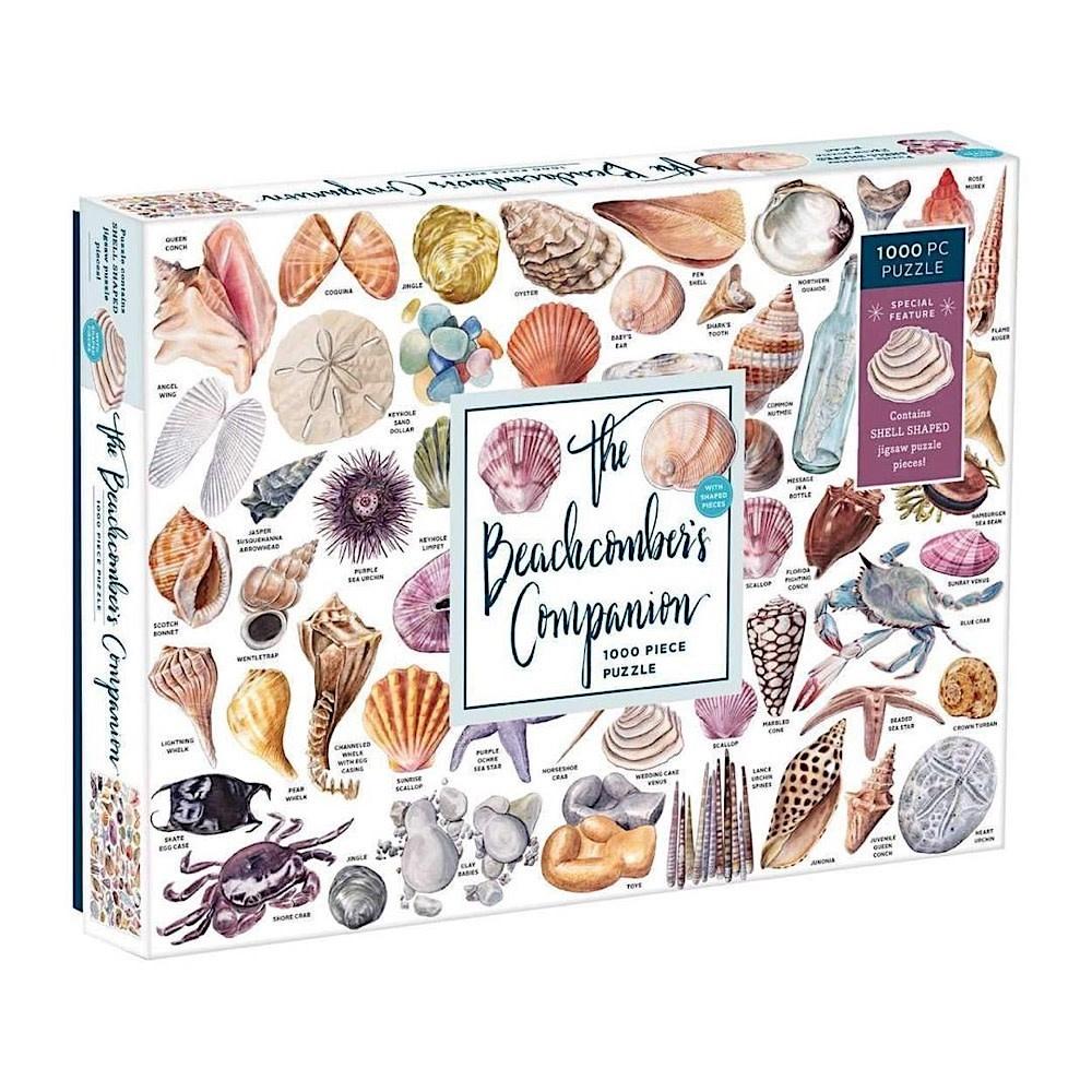Galison Mudpuppy The Beachcombers Companion Jigsaw Puzzle - 1000 Piece