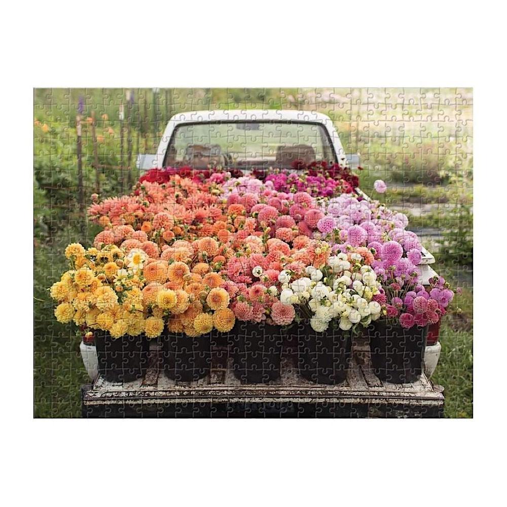 Floret Farms Cut Flower Garden 500 Piece Double Sided Puzzle