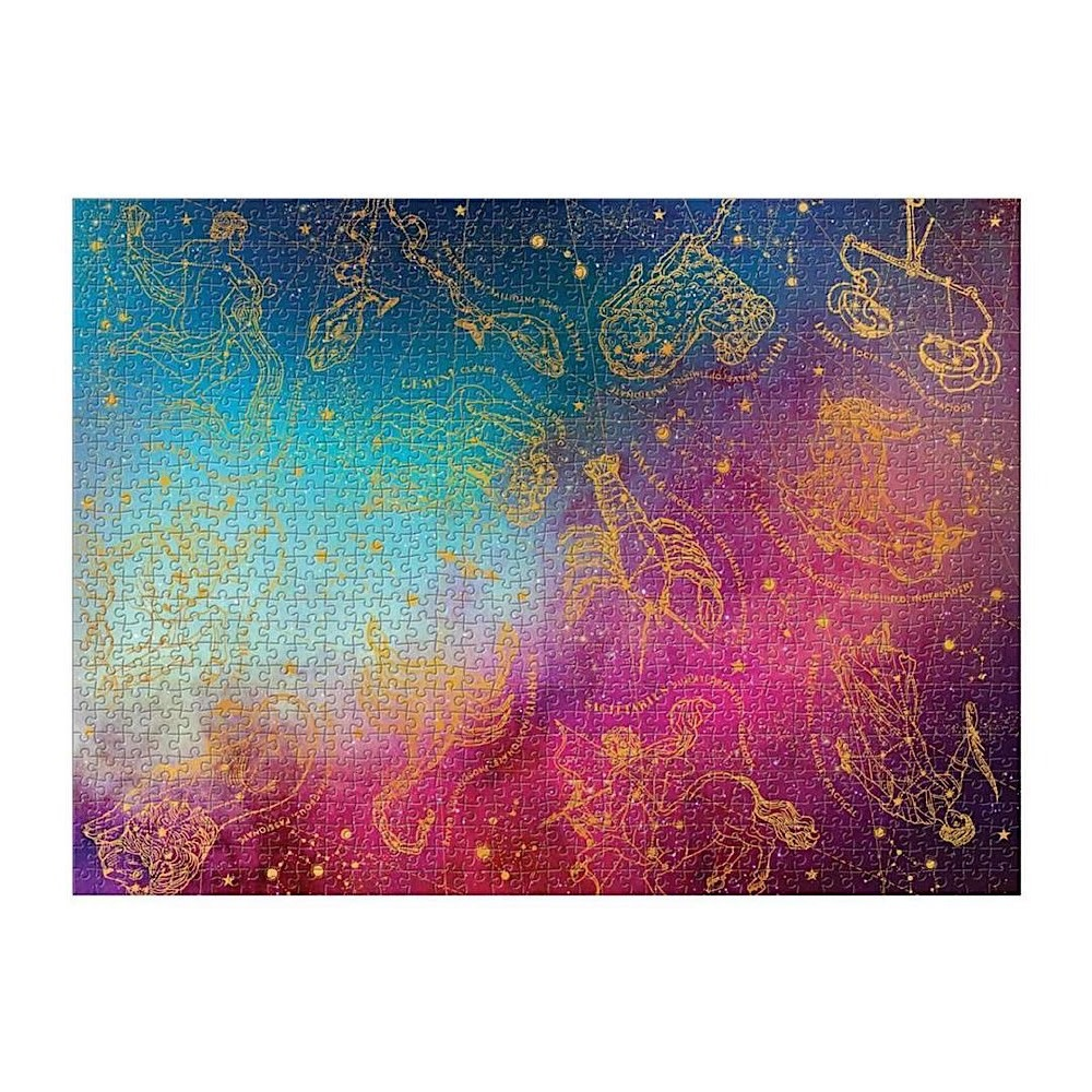 Astrology 1000 Piece Foil Puzzle
