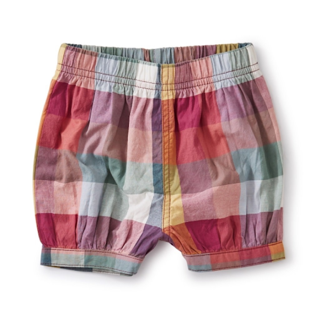 Tea Collection Bubble Shorts - Suez Plaid