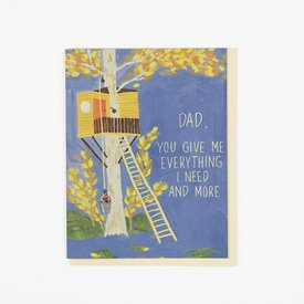 Small Adventure Small Adventure - Treehouse Dad Card