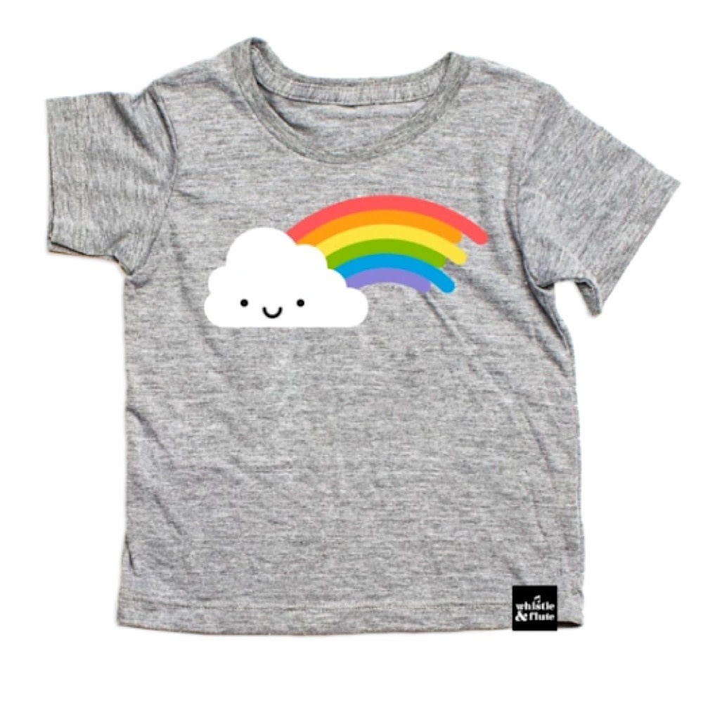 Whistle & Flute - Kawaii Rainbow T-Shirt