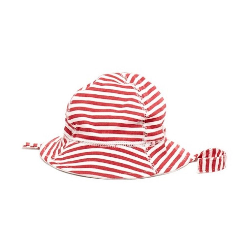 Baby Nautical Hat Red - 0-12M