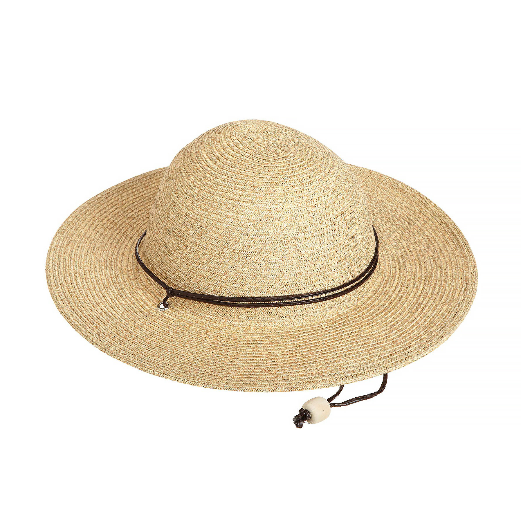 San Diego Hat Company Kid's Sun Hat with Chin Cord - Toast