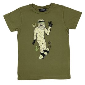 Tiny Whales Tiny Whale Radical Sasquatch Tee - Army Green