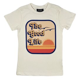 Tiny Whales Tiny Whales Good Life Tee - Natural