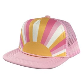 Tiny Whales Tiny Whales Sun Child Hat - Pink/Multi
