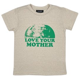 Tiny Whales Tiny Whales Love Your Mother Tee - Tri Sand