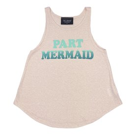 Tiny Whales Tiny Whales Part Mermaid Tank - Tri Blush