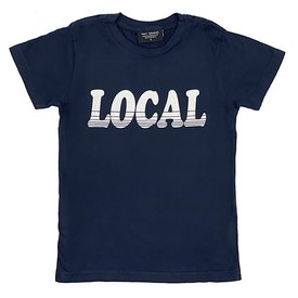 Tiny Whales Tiny Whales Local Tee - Navy