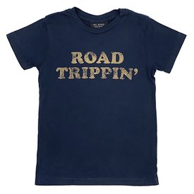 Tiny Whales Tiny Whales Road Trippin' Tee - Navy