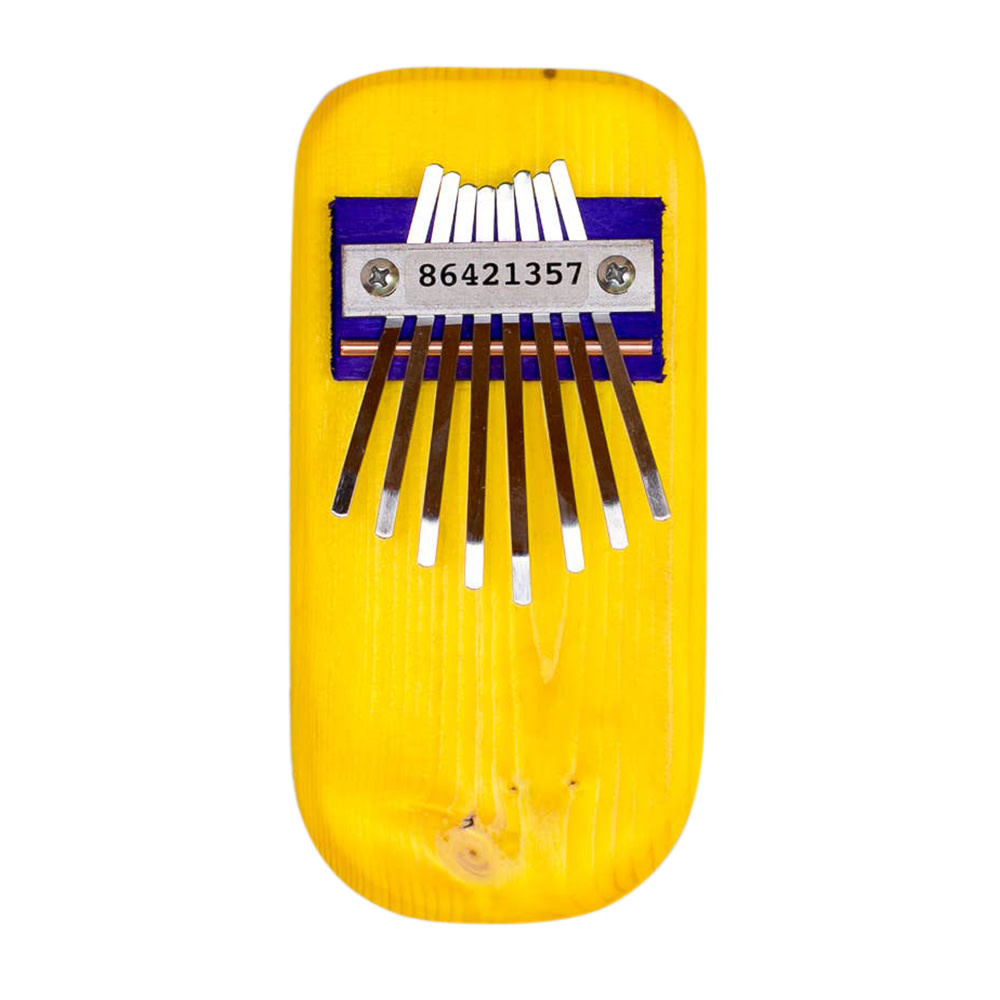 Mountain Melodies Pine Thumb Piano - Yellow