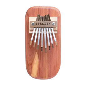 Mountain Melodies Mountain Melodies Cedar Board Thumb Piano