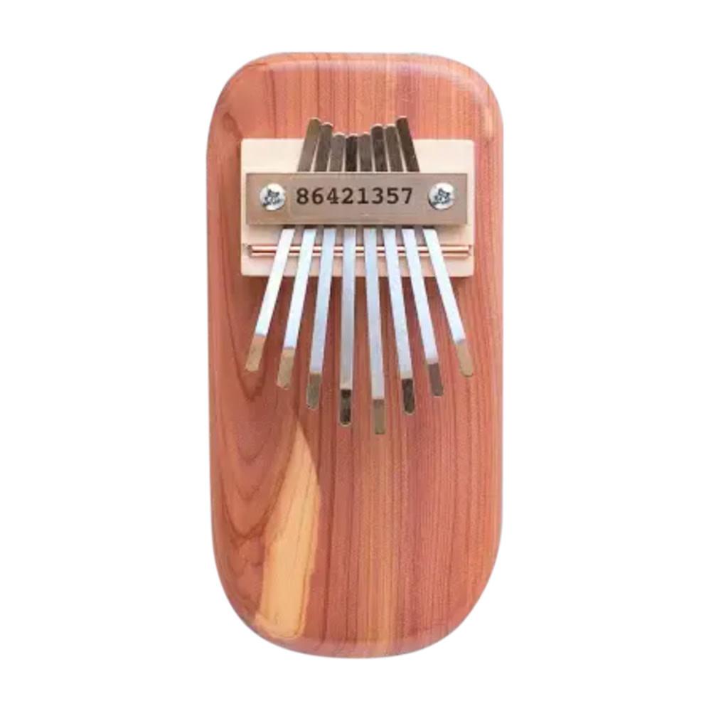 Mountain Melodies Cedar Board Thumb Piano