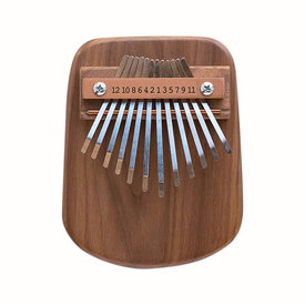 Mountain Melodies Mountain Melodies 12 Key Walnut Thumb Piano