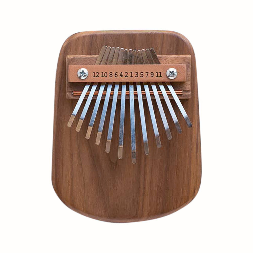 Mountain Melodies Mountain Melodies 12 Key Walnut Thumb Piano