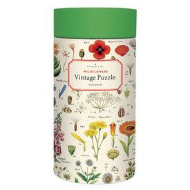 Cavallini Papers & Co., Inc. Cavallini Jigsaw Puzzle - Wildflowers - 1000 Pieces