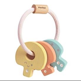 Plan Toys Plan Toys Baby Key Rattle - Pastel