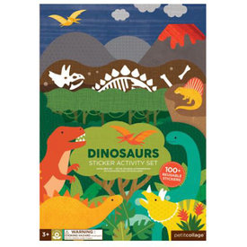 Petit Collage Petit Collage Sticker Activity Set - Dinosaurs