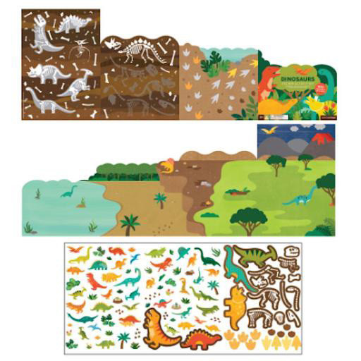 Petit Collage Sticker Activity Set - Dinosaurs