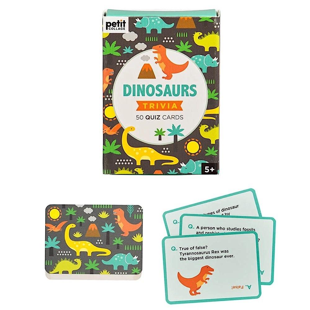 Petit Collage Petit Collage Dinosaur Trivia Quiz