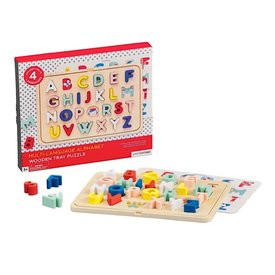 Petit Collage Petit Collage ABC Tray Puzzle