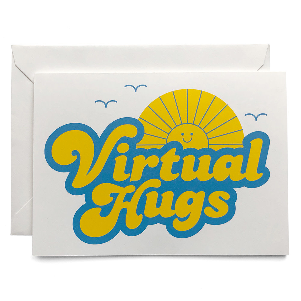 Virtual Hugs Card