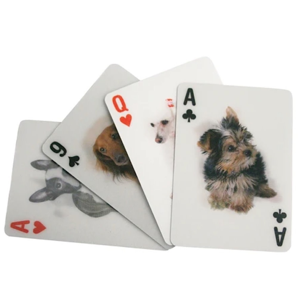 3D Lenticular Playing Cards - Dogs