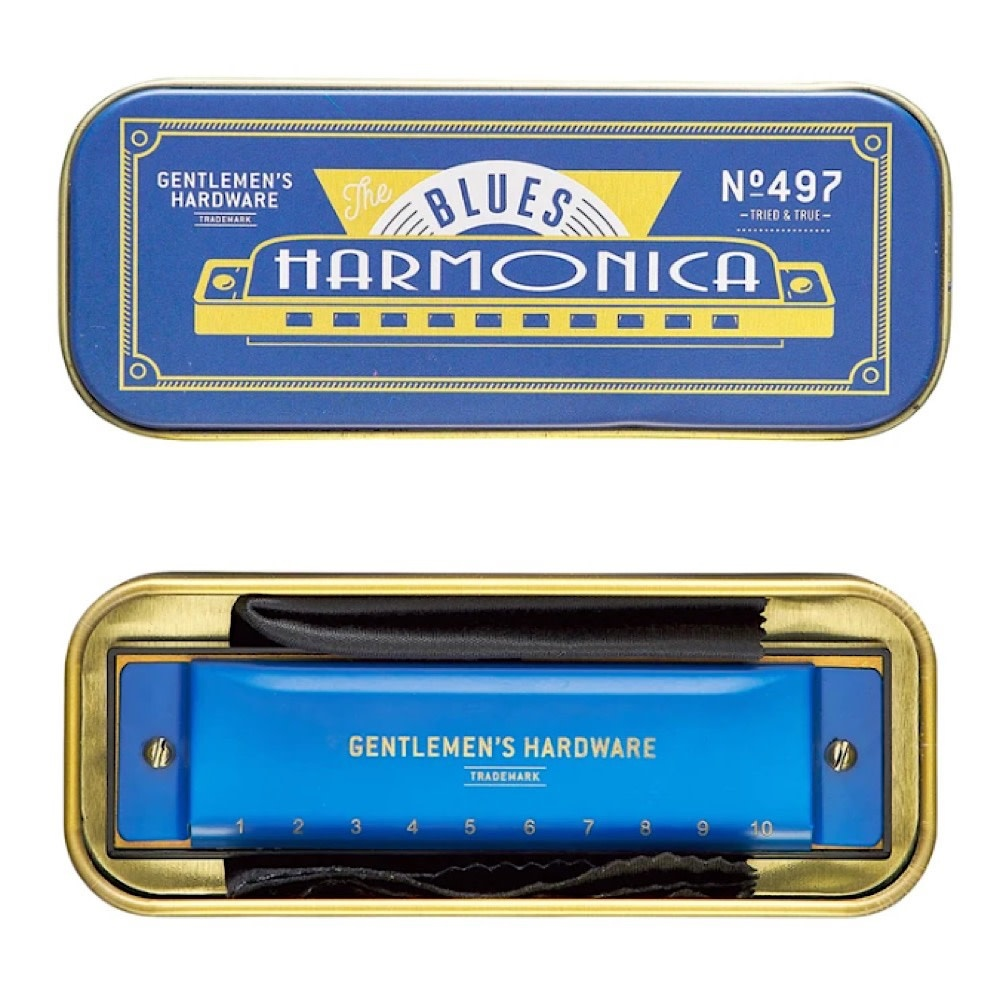 Wild & Wolf Gentlemen's Hardware - Blues Harmonica