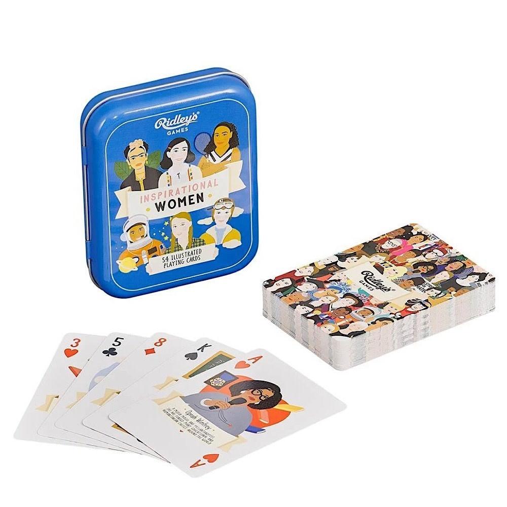 Inspirational Women Playing Cards