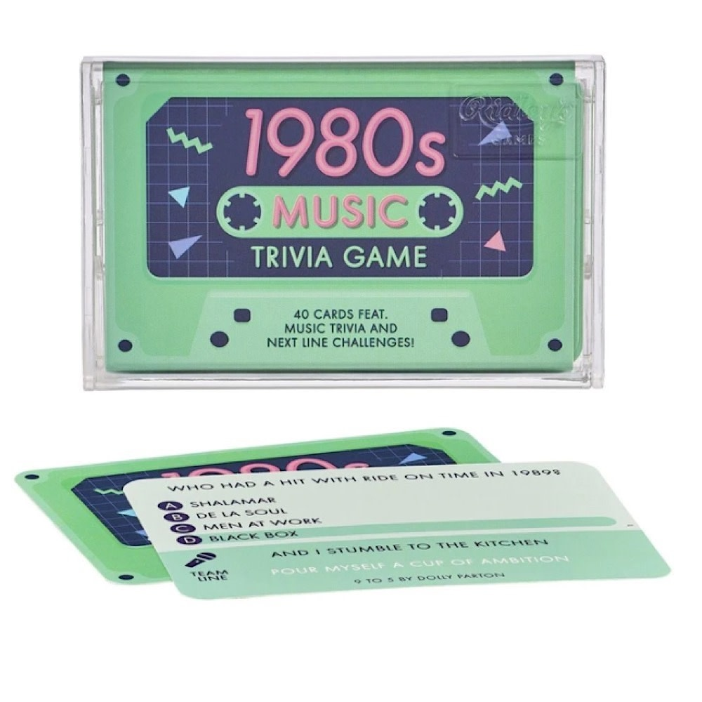 Wild & Wolf Trivia Tapes - 1980s Music