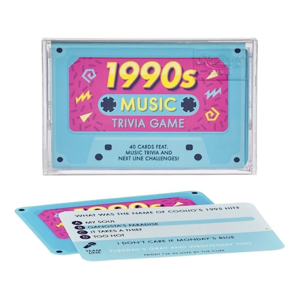 Trivia Tapes - 1990s Music