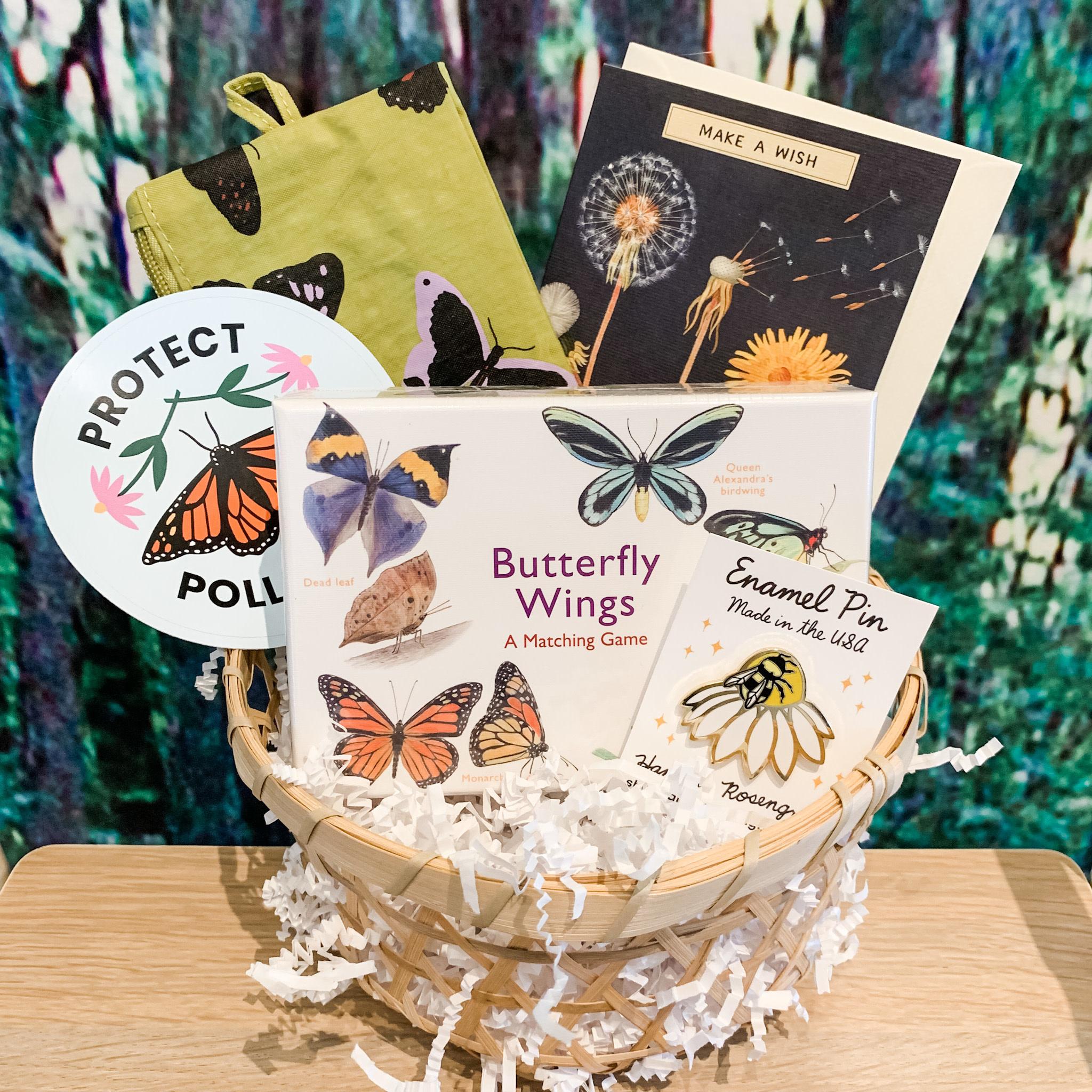 Daytrip Society Gift Basket - Butterfly