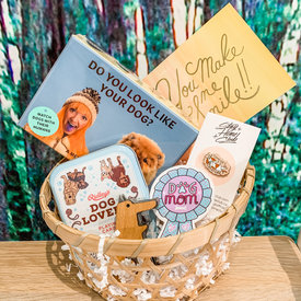 Daytrip Society Gift Basket - Dog Mom