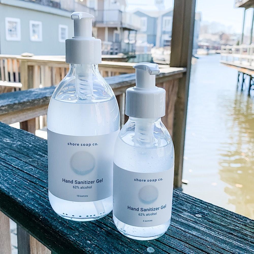Shore Soap Company - Hand Sanitizer Gel - 4oz.