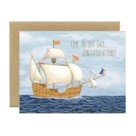 Yeppie Paper Yeppie Paper Card - Sailing Graduate