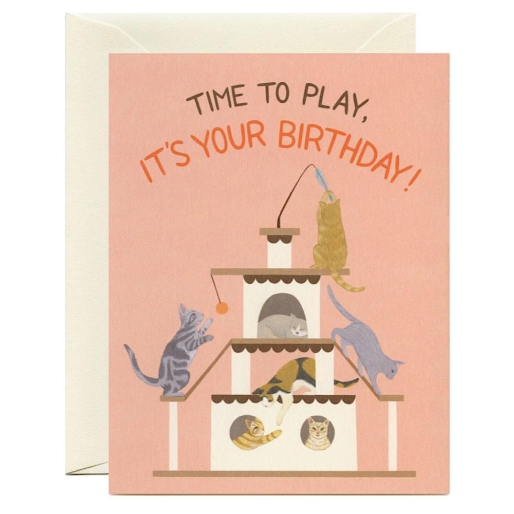 Yeppie Paper Yeppie Paper Playful Cats Birthday Card
