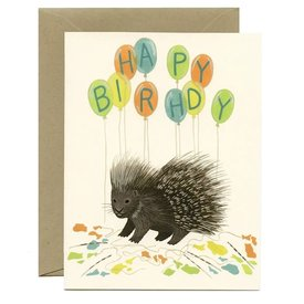 Yeppie Paper Yeppie Paper Card - Porcupine Balloons