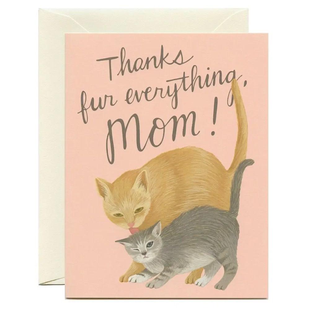 Yeppie Paper Mama Cat Card