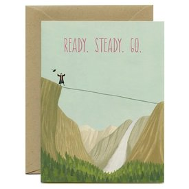 Yeppie Paper Yeppie Paper Card - Ready Steady Go
