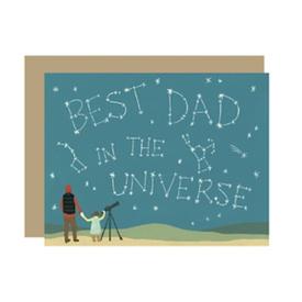 Yeppie Paper Yeppie Paper Universe Dad Card