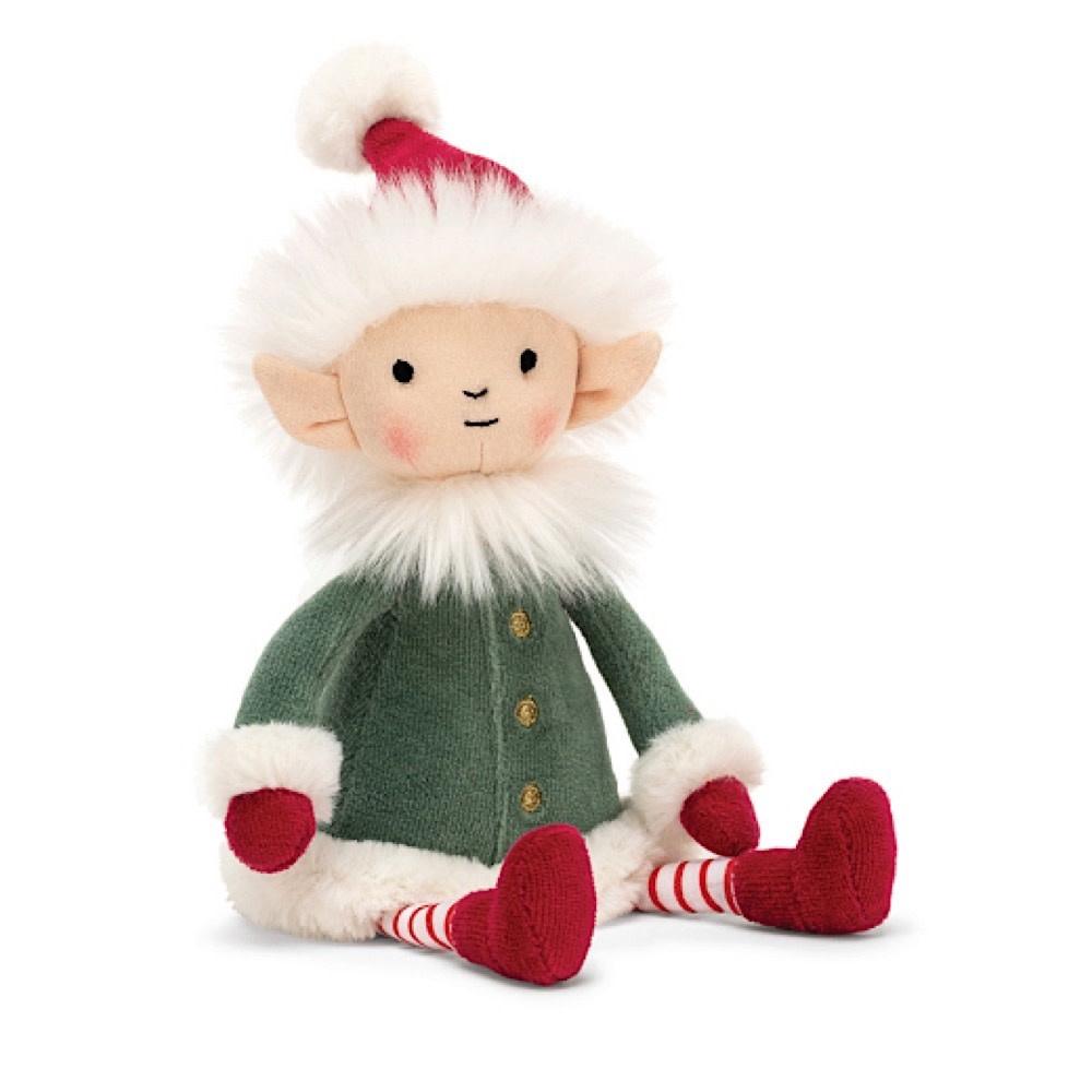 Jellycat Leffy Elf - Small - 9 Inches